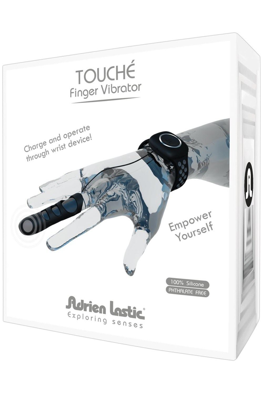 """Image of Fingervibrator """"Touché"""" Schwarz"""