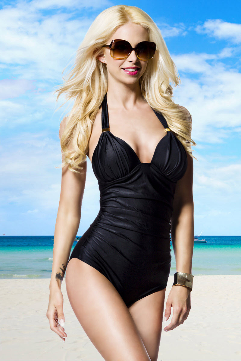 Image of Swimsuit, Schwarz