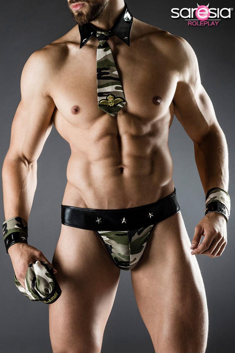 Image of Army-Kostüm, Saresia MAN, Tarnfarben