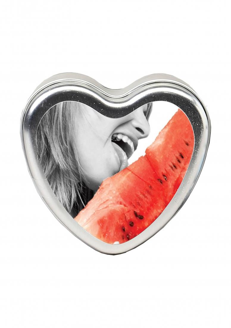 Image of Essbare Massage-Kerze, Earthly Body, Wassermelone