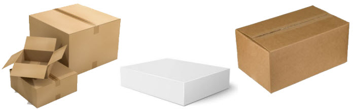Neutrale Schachteln